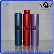 15ml purple/red/blue rolling glass perfume bottle