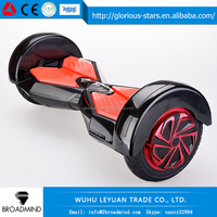Xmas gift for friend two wheel smart balance electric scooter with Bluetooth