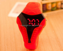 2015 new model soft touch jelly silicone band cobra led watch for colorful decorate