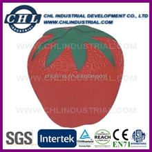 Promotional anti PU stress strawberry