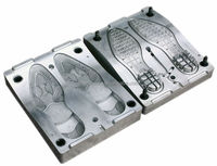 2014 hot sale PVC shoe sole mould for making gent shoes used on Italy vertical machine like MAIN GROUP machine