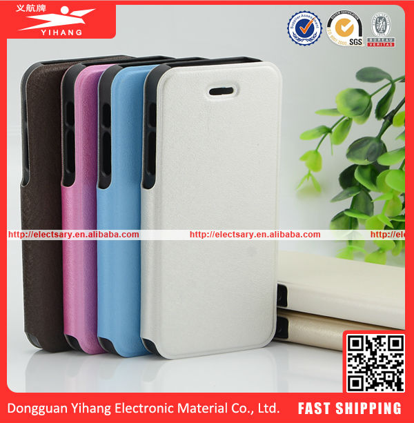 New design Green PU Leather Flip Cover Stand leather mobile phone Case For Samsung Galaxy S5 SV i9600