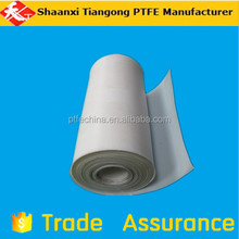 Chemical, mechanical, electrical, electronics, military, aerospace pure ptfe skived sheet&tape for guideway