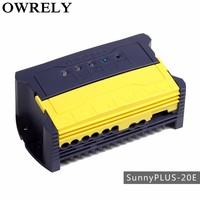 pwm 20a solar cell voltage regulator controller 12v 24v