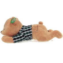 Stuffed toy sleep bear plush bear Stuffed Animal