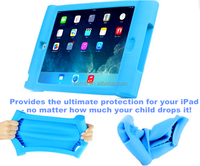 Shockproof Silicone Case tablet Stand Holder Case Rubber Shock-Resistant for ipad