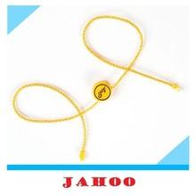 New China Hang Tag Designs Plastic Seal Tag String Cord