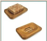 hotel bamboo soap dish / hanging and natural soap dish