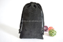High quality velvet drawstring bags pouch for mobile and digital camera (20150729J55)