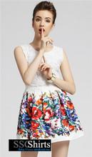 Hermosa sscshirts design100% baratos los últimos diseños de vestir para damas
