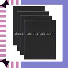 pvc sheet black color