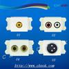 AV/RCA/TV Socket with face plate 120 type