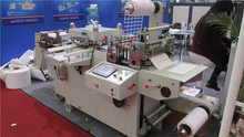 Blank label die cutting machine(punching, laminating, hot-stamping function) with CE certificate