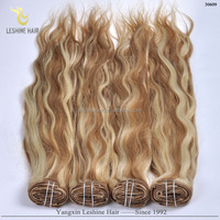 Vogue Factory Price clip in hair extensions for african american