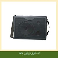 Portable teaching voice amplifier With USB/SD/strap/wireless MIC/Handle 12V,Guangzhou mini speaker
