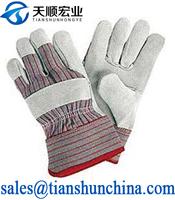 Cow Split Industrial Winter Leather Glove