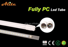 Direct selling Full PC t8 led tube power consumption