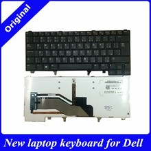 Original new for DELL E6520 E5520 backlit laptop keyboard Arabic layout notebook keyboard with stickpoint