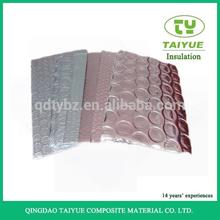 Materiales de construcción del aislamiento de calor techo de aluminio de la burbuja de la hoja