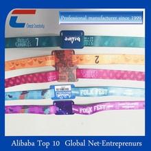 New popular woven wristband fabric rfid bracelet