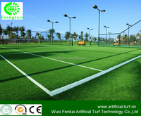 luxurious plastic sports synthetic turf with good drainage for school playground .WF-BL2