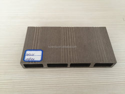145x21mm wood plastic composite brushed wpc decking outdoor flooring