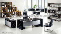 Modern office partner desk(F-19)