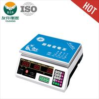 Poplar Model White Color 30kg/5g Balance Scale ACS - 209.LED Red Light,High Accuracy