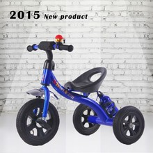 2015 new modle baby tricycle l steel kids pedal trike,air tire child's pedal tricycle