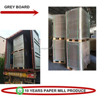 Hard Thickness Chip Board 70*100cm Gray Card Board For Laminate Plate
