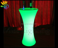 hot sales High LED table lighting bar cocktail table nightclub event table