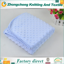 100 polyester minky cuddle knit fabric manufacturers in china