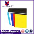 Alucoworld fácil instalación panel compuesto de aluminio acp acm para muros clading