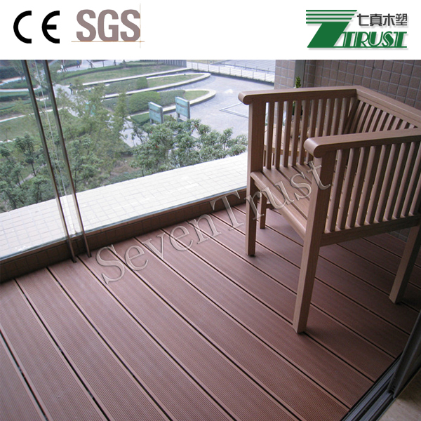Good Quality Exterior Flooring Stairs Steps Plastic Wood Composite Flooring Garden Flooring
