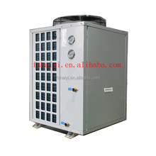 11kw Extramely cold -25C winter floor heating room 100~300sq meter villa split EVI tech .12kW/19kW/35kW air to water heat pump h