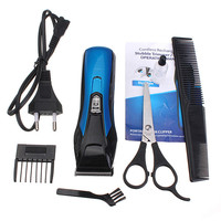2015 Newest Excellent Quality Professional Electric Beard Hair Shaver Razor Trimmer Clipper Set multifunctional Mens Kids