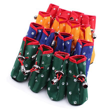 2015 new dog shoes, colorful waterproof dog boots, dog rain boot