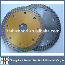 Chinese factory directly supply diamond saw blades sintered turbo wave