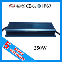 waterproof ip67 led driver,led power supply 250w,constant current led driver ic