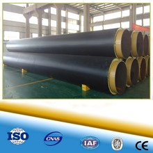 high quality and competitive price insulation pipe outer casing plastic hdpe pipe for community centralizing heat pipeline