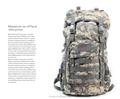 1000D nylon cordura saco de viagem caminhadas, Militar tactical backpack