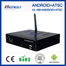 2015 popular android 4.2 tv box set top box android atsc tv tuner