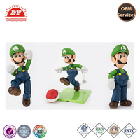 Customized high quality plastic Mario series action figure