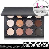 Wholesale 12-Pan 26mm DIY Magnetic private lable Makeup Eyeshadow Pigment cosmetic business