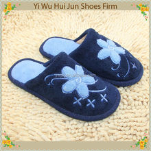 High Quality Hotel Bedroom /Airline Cotton Terry Slippers(HJCW207)