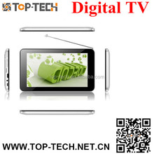 """7""""Digital TV android pc tablet with input Android4.2 1G DDR3 8GB Flash"""
