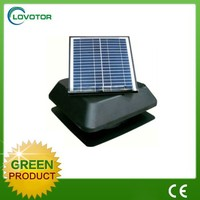 Summer solar hot house fan solar fan attic with adjustable solar panel