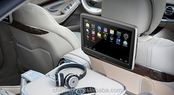 factory 10.1inch android 4.4.4 os touch screen car back seat lcd wifi monitor with 3g usb dingle \sd card \bluetooth\IR