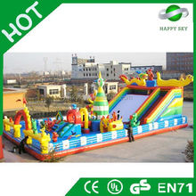Brand New Design inflatable fun city,commercial inflatable combo for sale,inflatable amusement park