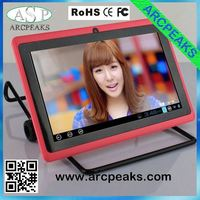 Cheapest 7 inch Allwinner A13 1.5GHz android 4.1 tablet pc Q88 1.2 ghz gpu mali 400